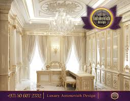 luxury interior design office antonovich design ae