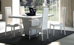 Dining Room Furniture Usa White Dining Table By At Home Usa W Optional Items