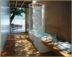 Bathroom Bathroom With Jacuzzi And Home Decor Jacuzzi Tub Shower Combination Stainless Steel Sink