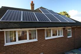 solar panels on flat roofs of listed buildings with permission