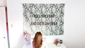 Bedroom Wall Tapestries Diy Hanging Quote Tapestry Youtube