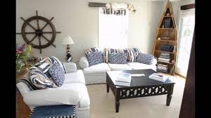 Chic Coastal Living by Nice Beach Themed Living Room In Small Home Decor Inspiration With