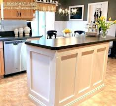 how to build a portable kitchen island kitchen island base cabinets kitchen island cabinet base