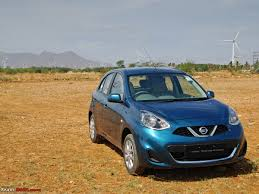 nissan micra active xv nissan micra facelift xtronic cvt official review team bhp