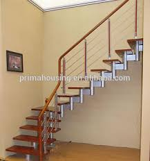 Indoor Stairs Design Modern Steel Wood Staircase Indoor Stair Handrails Stair Design Pr