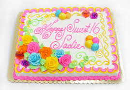Sheet Cake Decoration Bakery Cakes Custom Cakes Cake Decorator Cake Decorating