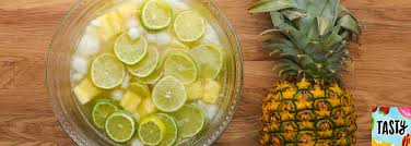 lime pineapple lime punch dole 100 pineapple juice