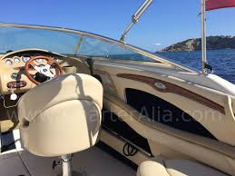 skippered speed boat sea ray 230 for 10 people yacht charter ibiza