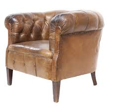 Leather Bucket Chair Leather Barrel Chairs Chair Design And Ideas
