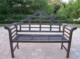 iron garden bench treenovation