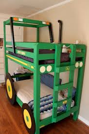 Boys Bunk Beds Cool Diy Tractor Bunk Beds For Your Boys Kidsomania