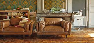 canapé cuir naturel 5 canapés alinéa pour changer la déco du salon déco cool