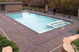 rectangle inground pools with tubs awesome ideas 13656 pools
