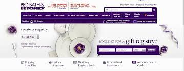 bridal registry company bed bath beyond bridal registry 1 garbolandia