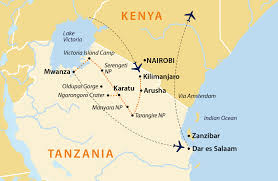 Lake Victoria Map Serengeti And The Secret Migration Tanzania Jules Verne