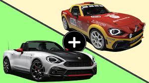 fiat spider vs miata fiat drops abarth 124 spider and rally car the drive