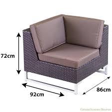 rattan lounge sofa lounge sofa rattan 100 images amazing deal on belleze 6