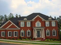 red brick accents amp dark red trim home wish list exterior brick