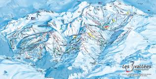 Piste Maps For Italian Ski by La Tania Piste Map Ski Area U0026 Trail Map La Tania My Chalet Finder