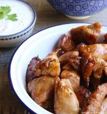 cuisine asiatique poulet poulet au miel et à la sauce soja