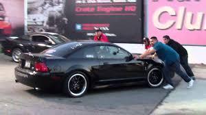Black Mustang Crash Ret Whipple 2003 Black Svt Cobra Mustang Broke An Axle March 17