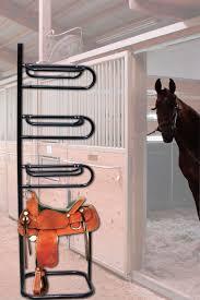 titan 4 tier saddle rack display holder horse equestrian storage