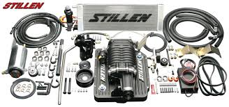 nissan 350z induction kit stillen supercharger kit for 300 hp 350z and 298 hp g35 coupe from