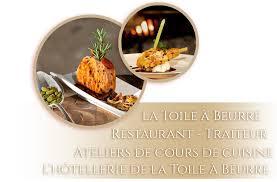 cours de cuisine loire atlantique la toile à beurre restaurant ancenis hotel ancenis loire atlantique