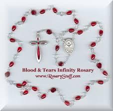 s tears rosary tears infinity rosary glass