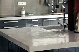 prix béton ciré plan de travail cuisine plan de travail cuisine en beton cire variance patine variance