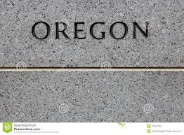 Map Oregon Washington State Stock by Oregon Engraving Stock Photo Image Of Wall Road Money 50704708