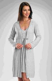 gaspe grey animal print robe womens dressing gowns gaspe 8715