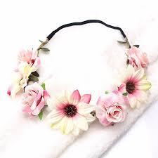 flower headband bachelorette flower headbands lots of colors bachette