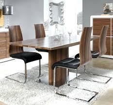 Walnut Dining Room Set Extendable Glass Dining Table Sets Small Glass Dining Table