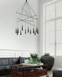 Modern Design Chandelier Mikado Pendant Chandelier By Filippo Mambretti Contemporist