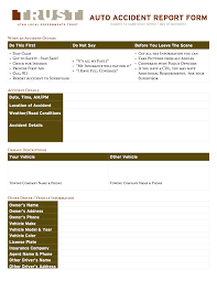 100 free sample incident report form templates toronto accident