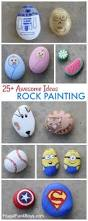 25 awesome rock painting ideas idea rock rock crafts and rock
