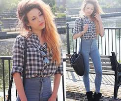 pattern jeans tumblr 20 style tips on how to wear high waisted jeans gurl com gurl com