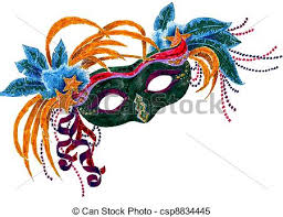 mardi mask stock illustrations of mardi gras orleans mask a colorful