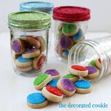 Cookie Gifts Glitter Mason Jar Cookie Gifts Are A Bright Gift To Give This