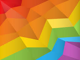 free polygonal rainbow background vector vector art u0026 graphics