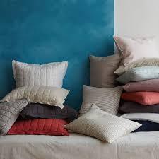 belgian flax linen quilt cover pillowcases platinum west elm au