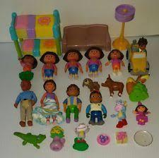 Dora The Explorer Bedroom Furniture by Dora Dollhouse Furniture Ebay