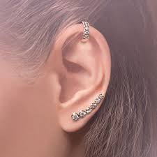 ear pins annoushka dusty diamonds 18ct gold diamond right ear pin