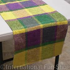mardi gras table runner fabric mardi gras table runner mardi gras party supply