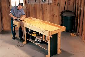 Woodworking Plans For Free Workbench by Tom U0027s Torsion Box Workbench Popular Woodworking Magazine