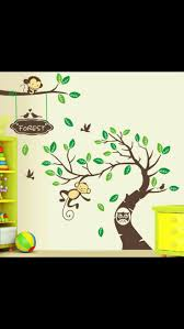 Monkey Wall Decals For Nursery by 20 Best Jungle Zoo Themes Images On Pinterest Babies Nursery