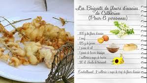 fr3 recettes cuisine beignets de fleurs d acacias de catherine recettes les carnets