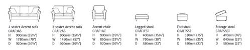 Standard Sofa Size by Alstons Grafton Sofa Leather Sectional Sofa
