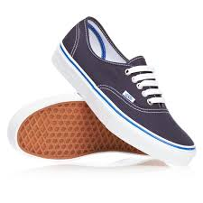 vans authentic shoes dress blues nautical blue free delivery